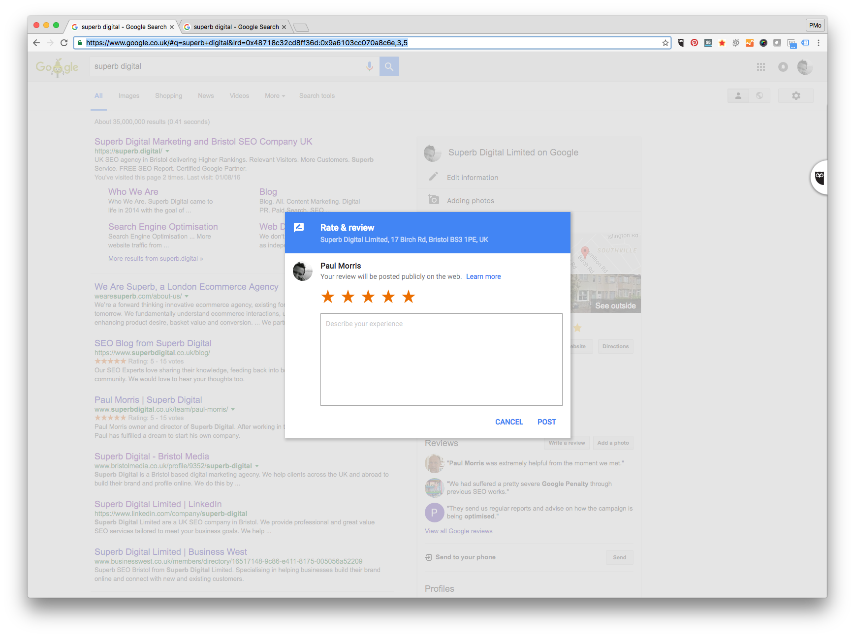 write a google review for a business Reviews on google provide valuable information about your business to both you and your customers business reviews appear next to your listing in maps and search.