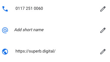Add Short Name