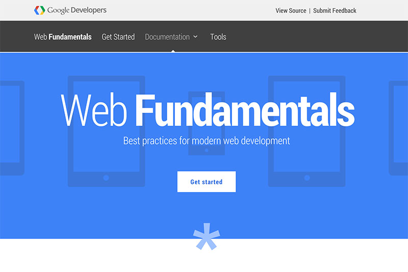 Google's web fundamentals