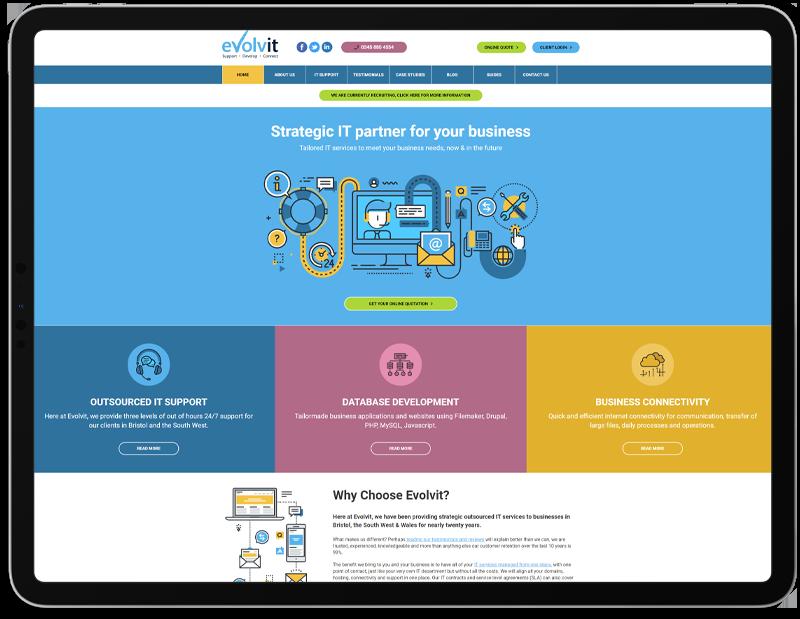 Evolvit web design