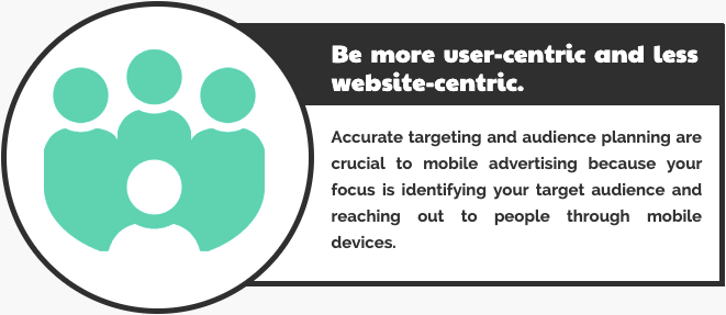 Be more user-centric