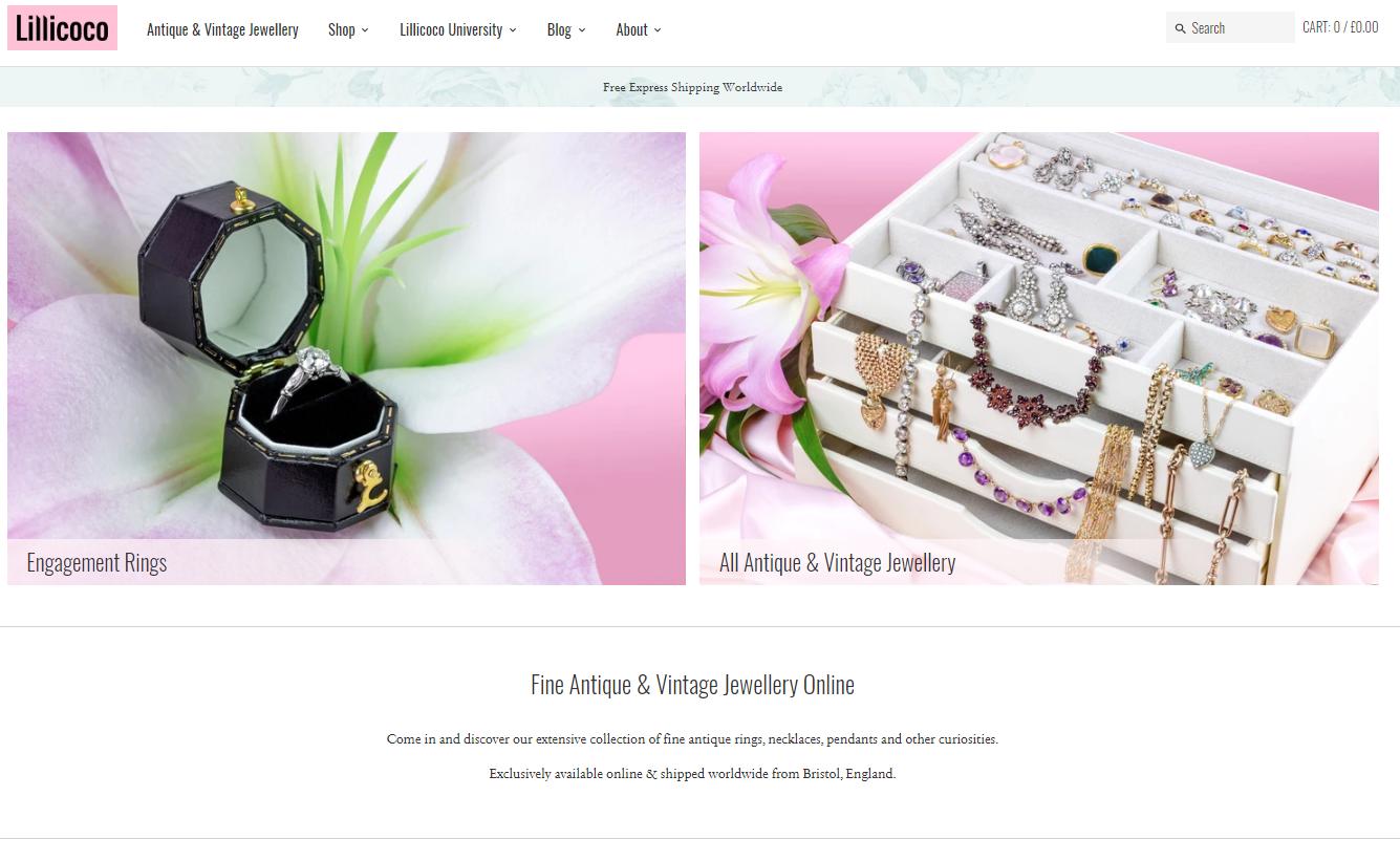 Lillicoco website