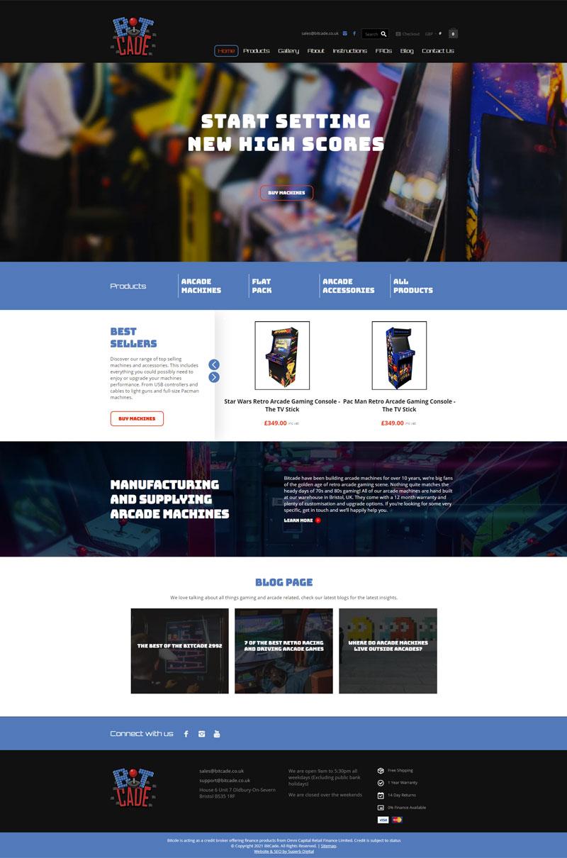 Bitcade Web Design