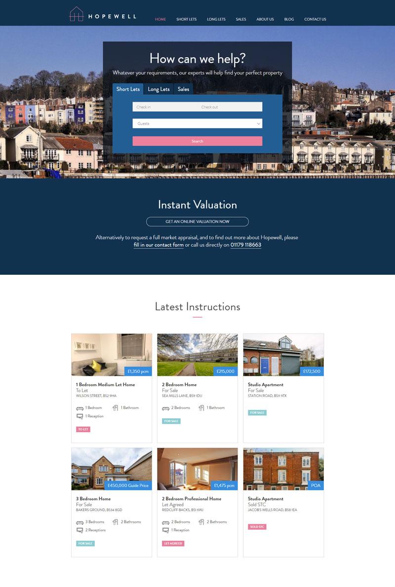 Hopewell Homepage